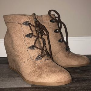 Unlisted Wedge Booties